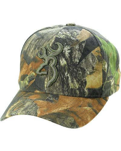 Browning Camouflage Tonal Buckmark Logo Cap Western & Country 308479141B
