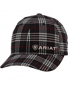 Ariat Navy Plaid Cap
