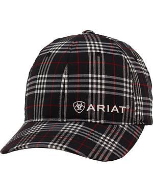 Ariat Navy Plaid Cap