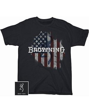Browning Tattered Flag T-Shirt
