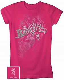 Brownin Branding Iron Fitted Tee