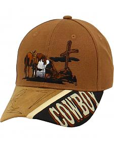Twister Cowboy Prayer Cap