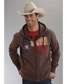 Roper Americana Collection Zip Front Hooded Sweatshirt