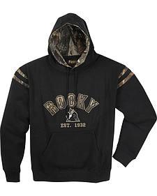 ROCKY� Men's Camo Hoodie Sweatshirt