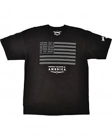 Jack Daniel's Men's Jack and Stripes Black T-Shirt