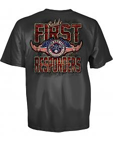 Chris Kyle First Responders Charcoal T-Shirt