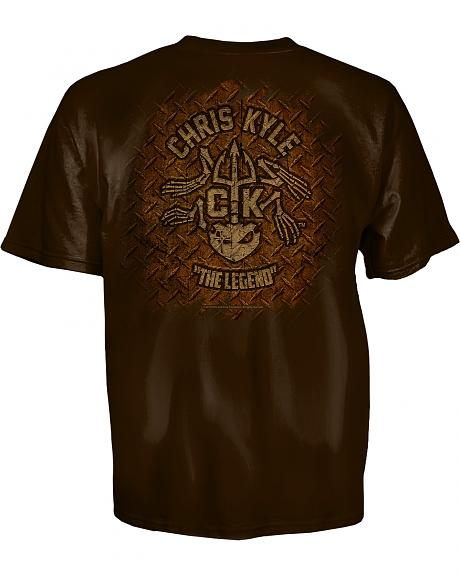 Chris Kyle Overseer Brown T Shirt Sheplers