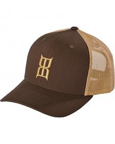 Bex Brown Khaki Mesh Cap
