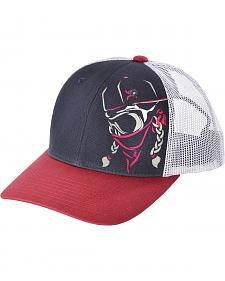 HOOey Navy and Pink Bandita Cap
