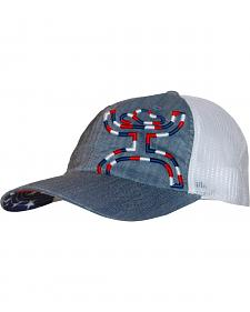 HOOey Women's Patriot Mesh Back Cap