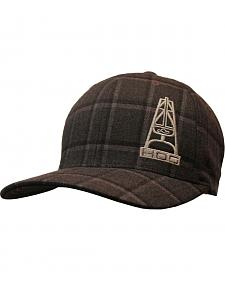 HOOey Men's Plaid Foreman Flex Fit Cap