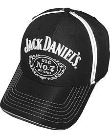 Jack Daniel's Men's Black Logo Cap