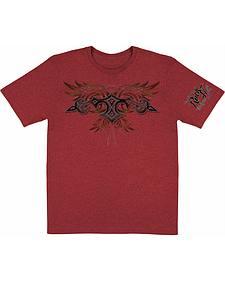 Wrangler Rock 47 Red T-Shirt