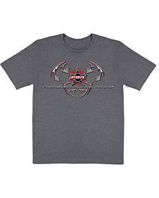 Wrangler Charcoal PBR Logo T-Shirt
