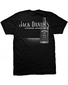 Jack Daniel's Men's Big Bottle Short Sleeve T-Shirt