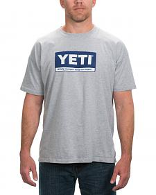YETI Coolers Men's Billboard Logo T-Shirt