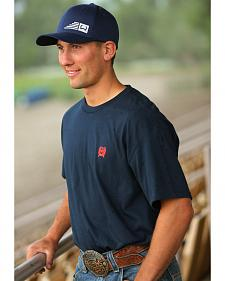Cinch Men's Navy Logo T-Shirt