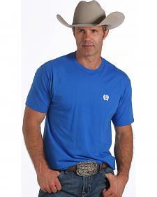 Cinch Men's Blue Logo T-Shirt
