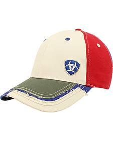 Ariat Men's Patchwork Cap