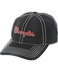 Wrangler Black Logo Cap