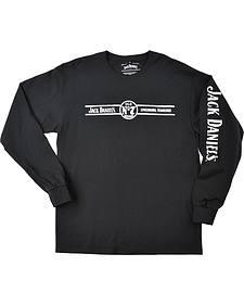 Jack Daniel's Men's Lynchburg, TN Long Sleeve T-Shirt
