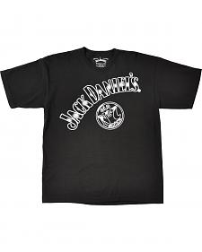 Jack Daniel's Men's Angled Old No.7 T-Shirt