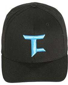 Tuf Cooper Performance Black Twill Logo Cap