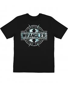 Wrangler Men's Lightning Bolt Short Sleeve T-Shirt