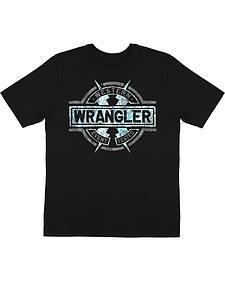 Wrangler Men's Lightning Bolt Short Sleeve T-Shirt