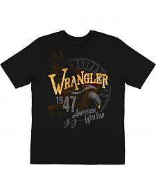 Wrangler Men's 1947 Eagle Logo Short Sleeve T-Shirt