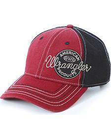 Wrangler Men's American Product Logo Cap