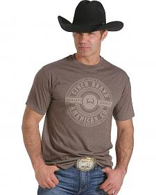 Cinch Men's Brown Logo T-Shirt