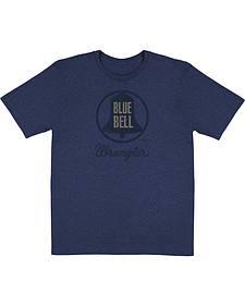 Wrangler Men's Blue Graphic Tee