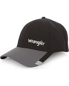 Wrangler Men's Black Logo Cap