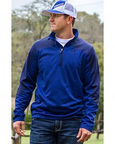 Cinch Men's Royal Blue Fleece Pullover