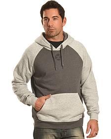 Hooey Men's Grey Pullover Logo Hoodie