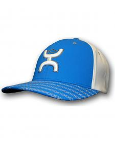 HOOey Men's Blue Solo III FlexFit Hat