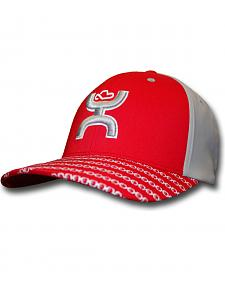 HOOey Men's Red Solo III FlexFit Hat