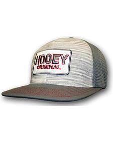 Hooey Men's Grey Original Logo Trucker Hat