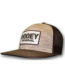 Hooey Men's Tan Original Logo Trucker Hat