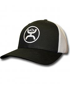 Hooey Men's Black and White Cody Ohl Signature Hat