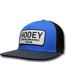 HOOey Men's Blue Hometown Trucker Hat
