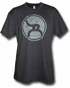 HOOey Men's Grey Hippie T-Shirt