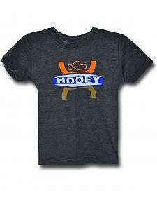 HOOey Youth Boys' Grey Logo T-Shirt