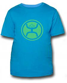 HOOey Youth Boys' Turquoise Hippie T-Shirt