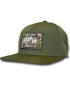 Hooey Men's Green Ripcord Adjustable Hat