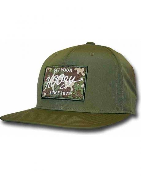 HOOey Men's Green Ripcord Adjustable Hat