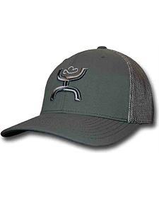 Hooey Men's Chi Grey Snapback Trucker Hat