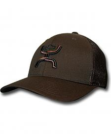 HOOey Men's Chi Brown Snapback Trucker Hat