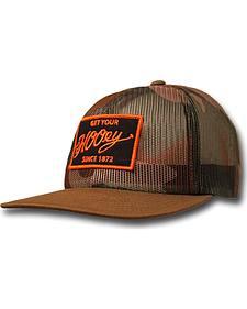 Hooey Men's Camo Mesh Grab Trucker Hat